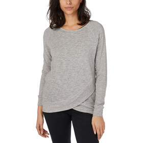 tentree Acre LS Shirt Women hi-rise grey marled